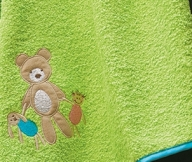 Bear Toys Colors Green | LaC 08 | Bath Towel 70x140