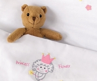 Princess Flower | LaP 21 | Cradle Sheet + Pillow